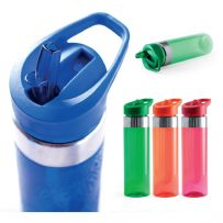 700 ml  Flip Straw Water Bottle